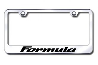 Autogold® - Formula Logo on Chrome Frame