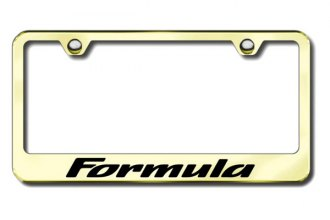 Autogold® - Formula Logo on Gold Frame