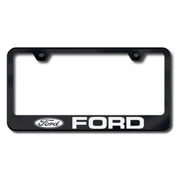 AutoGold� - Ford Logo on Black Frame
