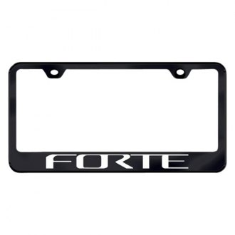 Autogold® - License Plate Frame with Laser Etched Forte Logo
