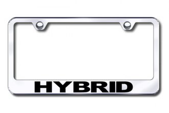 Autogold® - Laser Etched Hybrid Logo on Chrome Frame