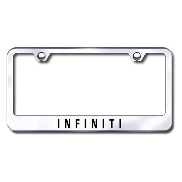 Autogold® - Infiniti Logo on Chrome Metal Frame