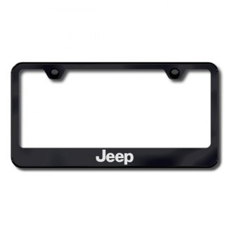 AutoGold� - Jeep Logo on Black Frame