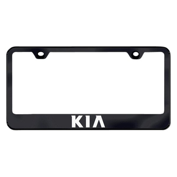 Autogold® - License Plate Frame with Laser Etched Kia Logo