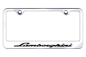 Autogold® - Lamborghini Logo on Chrome Frame