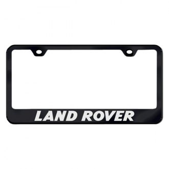 Autogold® - License Plate Frame with Laser Etched Land Rover Logo