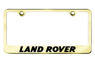 Autogold® - Land Rover Logo on Gold Frame