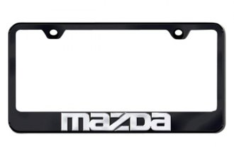 Autogold® - 3D Mazda Logo on Black Frame