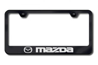 Autogold® - Mazda Logo on Black Frame