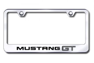 Autogold® - Mustang GT Logo on Chrome Frame