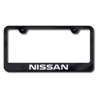 AutoGold� - Nissan Logo on Black Frame