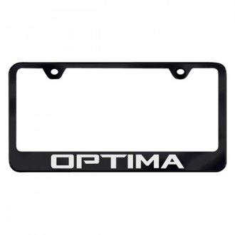 Autogold® - License Plate Frame with Laser Etched Optima Logo