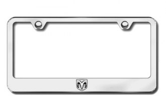 Autogold® - Ram Head Logo on Chrome Frame