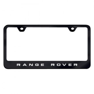 Autogold® - License Plate Frame with Laser Etched Range Rover Logo