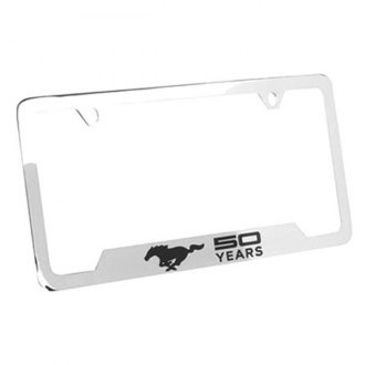 Autogold® - Black License Plate Frame with Laser Etched S60 Logo