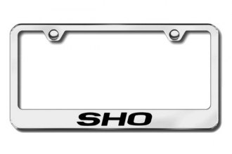 Autogold® - SHO Logo on Chrome Frame