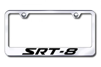 Autogold® - SRT-8 Logo on Chrome Frame
