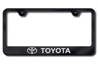 Autogold® - Toyota Logo on Black Frame