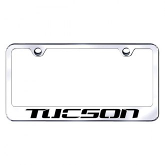 Autogold® - License Plate Frame with Laser Etched Tucson Logo
