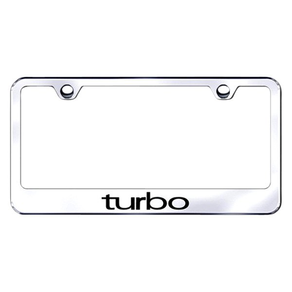 Autogold® - Turbo Logo on Chrome Frame