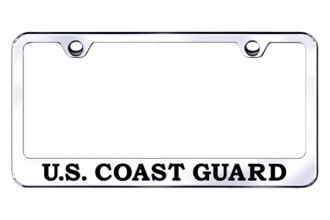 Autogold® - US Coast Guard Logo on Chrome Frame