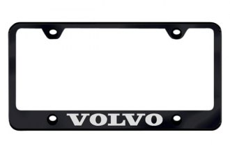 Autogold® - Laser Etched Volvo Logo on Black Frame
