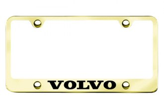 Autogold® - Volvo Logo on Gold Frame