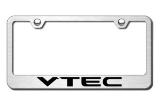 Autogold® - VTEC Logo on Brushed Stainless Frame