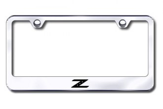 Autogold® - Laser Etched Z Logo on Chrome Frame