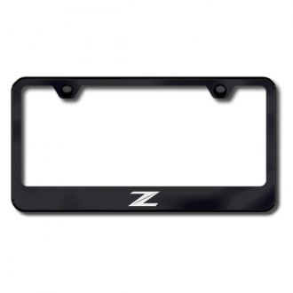 Autogold® - Z New Logo on Black Laser Etched Frame