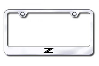 Autogold® - Z New Logo on Chrome Laser Etched Frame