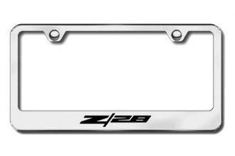 Autogold® - Z28 Logo on Chrome Frame
