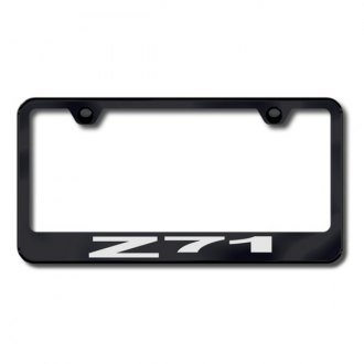 Autogold® - Laser Etched Z71 Logo on Black Frame