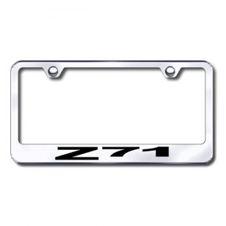 Autogold® - Laser Etched Z71 Logo on Chrome Frame