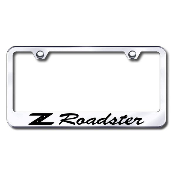 Autogold® - Z Roadster Logo on Chrome Frame