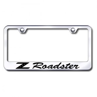 AutoGold� - Z Roadster Logo on Chrome Frame