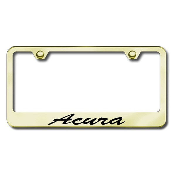 Autogold® - Acura Script Logo on Gold Frame