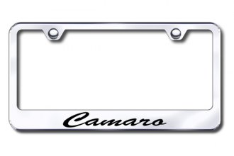 Autogold® - Camaro Script Logo on Chrome Frame