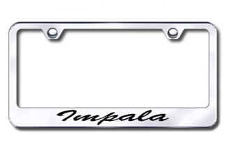 Autogold® - Impala Script Logo on Chrome Frame