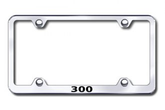 Autogold® - 300 Name Wide Body Logo on Chrome Frame