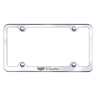 Autogold® - Wide Body Chrome License Frame Semi Universal