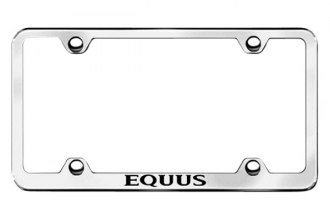 Autogold® - Equus Logo on Stainless Steel Frame