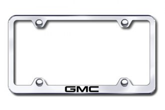 Autogold® - Laser Etched GMC Logo on Chrome Frame