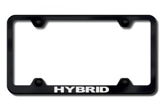 Autogold® - Laser Etched Hybrid Logo on Wide Body Black Frame