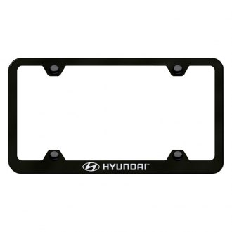 Autogold® - Wide Body License Plate Frame with Laser Etched Hyundai Logo