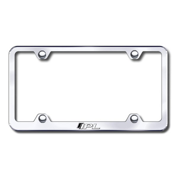 Autogold® - IPL Logo on Chrome Frame