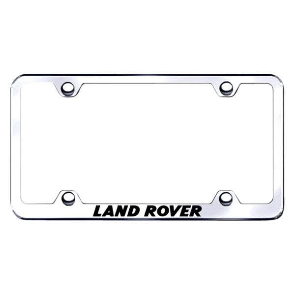 Autogold® - Wide Body License Plate Frame with Laser Etched Land ...
