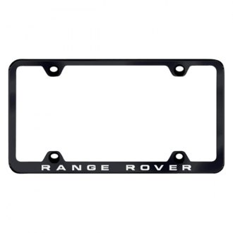 Autogold® - Wide Body License Plate Frame with Laser Etched Range Rover Logo