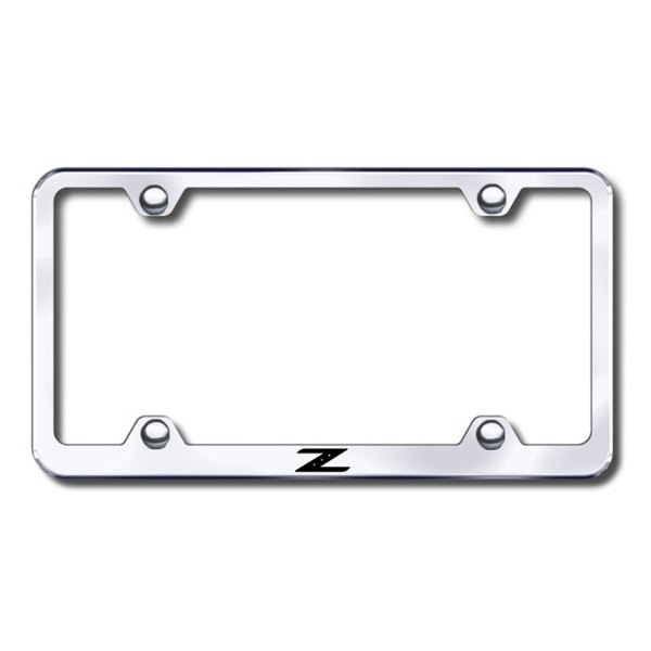 Autogold® - Laser Etched Z Logo on Chrome Metal Frame