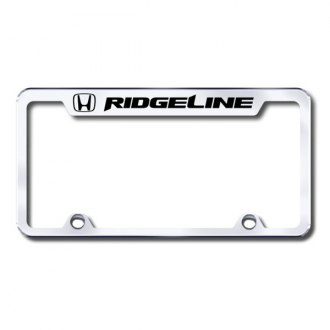Autogold® - Ridgeline Logo on Chrome Frame